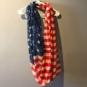 American Flag Inifinity Scarf - Lightweight